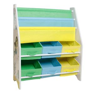 Regál na hračky NOMITO TYP 1 biela / viacfarebná Tempo Kondela