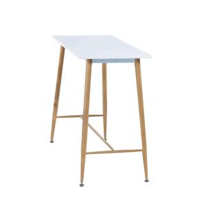 Barový stôl DORTON biela / buk Tempo Kondela