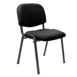 Konferenčná stolička ISO látka / kov Halmar Čierna