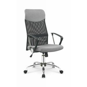 Kancelárska stolička VIRE Halmar Sivá / čierna