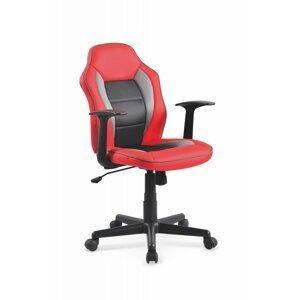 Detská stolička NEMO červená / čierna Halmar