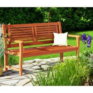 Záhradná lavička D1464 Dekorhome