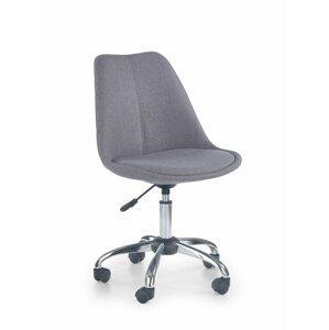 Detská stolička COCO 4 svetlosivá Halmar