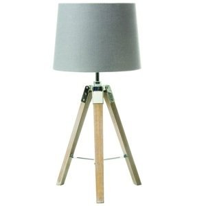 Stolná lampa JADE Typ 2 sivá Tempo Kondela