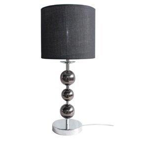 Stolná lampa JADE TYP 8 čierna Tempo Kondela
