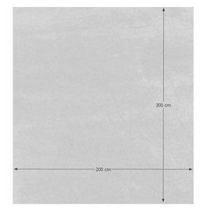 Shaggy koberec AMIDA snehobiely Tempo Kondela 200x300 cm