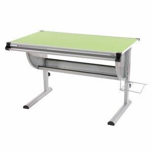 Detský písací stôl WH6507 zelený Dekorhome