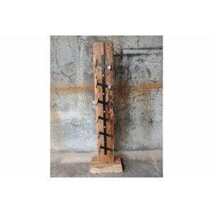 Stojan na víno WLD136 drevorezba z recyklovaného dreva