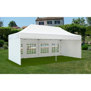Záhradný stan 3x6m PROFI Biela