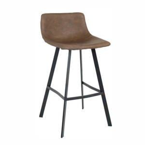 Barová stolička FALUN hnedá / čierna Tempo Kondela