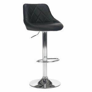 Barová stolička MARID ekokoža / kov Tempo Kondela Čierna