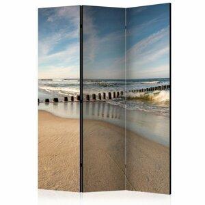 Paraván Sea Breeze Dekorhome 135x172 cm (3-dielny)