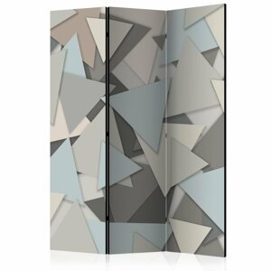Paraván Geometric Puzzle Dekorhome 135x172 cm (3-dielny)