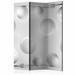 Paraván Balls Dekorhome 135x172 cm (3-dielny)