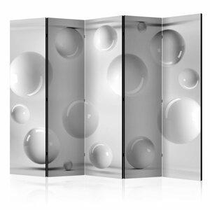 Paraván Balls Dekorhome 225x172 cm (5-dielny)
