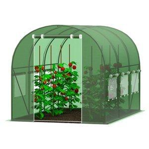 Záhradný fóliovník 2,5x5m zelená