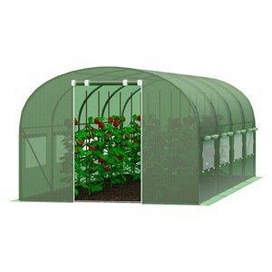 Záhradný fóliovník 3x6m zelená