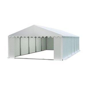 Skladový stan 6x10m PREMIUM Sivá