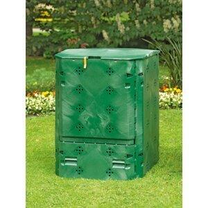 Kompostér 600l recyklovaný plast Dekorhome