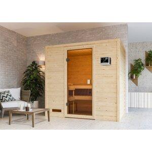 Interiérová fínska sauna 195 x 145 cm Dekorhome