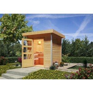 Vonkajšia fínska sauna 196 x 146 cm Dekorhome