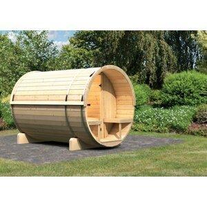 Vonkajšia fínska sudové sauna 216 x 280 cm Dekorhome