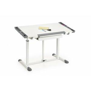 Detský písací stôl B-42 biela / sivá Halmar
