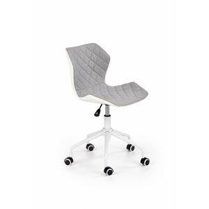 Detská stolička MATRIX 3 Halmar Sivá