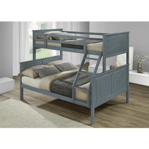 Rozložiteľná poschodová posteľ NEVIL sivá Tempo Kondela