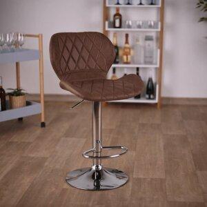Barová stolička SOFALA hnedá / chróm Tempo Kondela