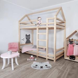 Detská poschodová posteľ FREYA borovice Tempo Kondela