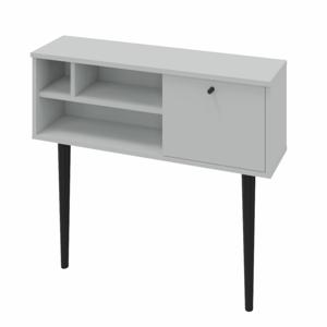 Konzolový stolík DEMONT sivá / čierna Tempo Kondela