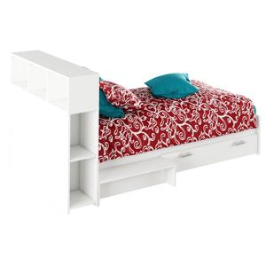 Detská posteľ ALEXIA 90 x 200 cm Tempo Kondela Biela