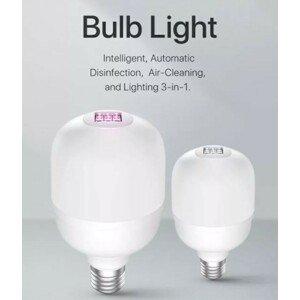 K.V.R. UVC dezinfekční žárovka E27 8W(60w)/6W(UV-C) 3000k - 2ks