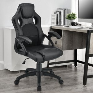 "Eshopist Kancelárska stolička ,,Montreal"" (čierna)"