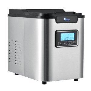 Eshopist Prístroj na výrobu ľadu MIM242L sivo-čierny
