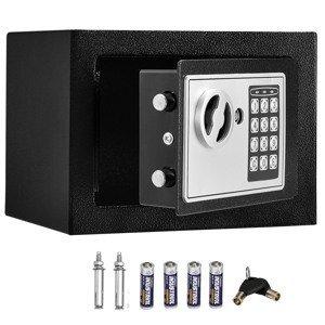 Eshopist Trezor Secure-S s elektronickým kombinovaným zámkom - antracit