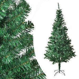 Eshopist Umelý vianočný stromček - 180 cm, so stojanom, zelený