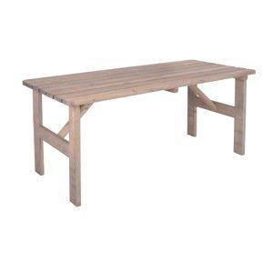 Rojaplast VIKING Stôl ŠEDÝ - 150 cm