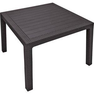 Keter MELODY quarted Stôl - hnedý