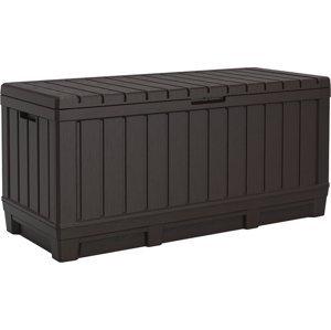Keter KENTWOOD BOX 350L hnedý
