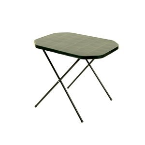 Dajar Stôl CAMPING 53x70 - zelený