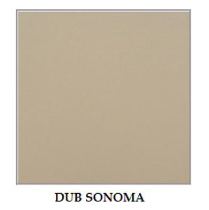 Drewmix Jedálenská stolička ROMA 5 Farba: dub sonoma