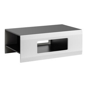 Furnival Konferenčný stôl Clif Farba: Grafit / biely mat