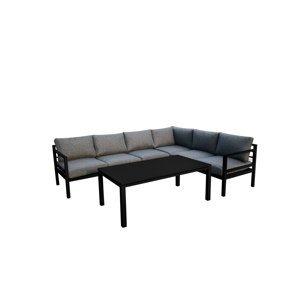 Bello G Záhradný set Alluminio Grande Prevedenie: Čierna