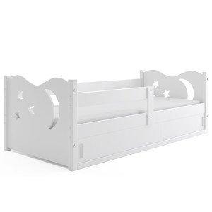 BMS Detská posteľ Mikolaj 1 | BIELA 160x80 cm Farba: biela  - vystavený kus
