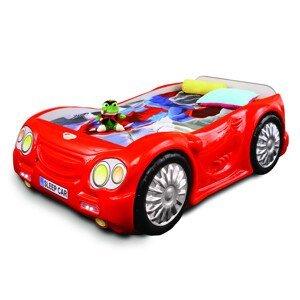 Artplast Detská posteľ SleepCar Farba: Červená