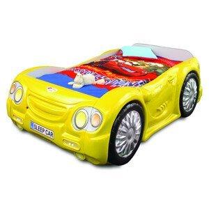 Artplast Detská posteľ SleepCar Farba: Žltá