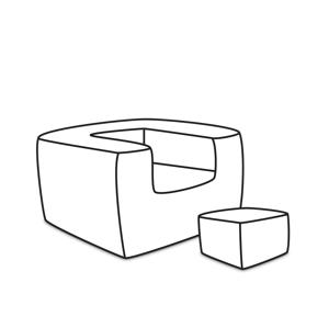 ArtPP Sedací vak Tetris Plus - PPY-69 Prevedenie: 3. cenová skupina látok