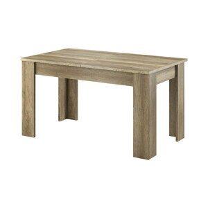 Piaski Rozkladací jedálenský stôl Sky L140 Farba: Country sivá